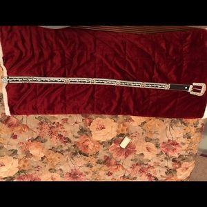 Accessories - Steer head rhinestone belt